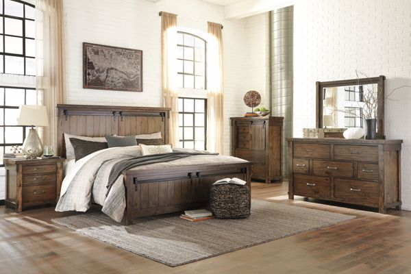 Picture of Lakeleigh - Queen Panel Bed
