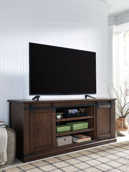 Picture of Budmore - Brown X-Large TV Stand