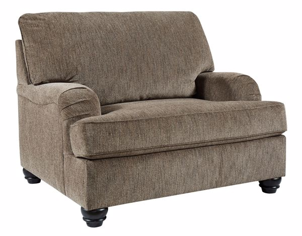 Picture of Braemar - Brown Chair & 1/2