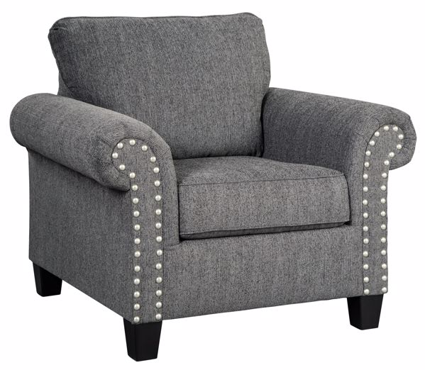Picture of Agleno - Charcoal Accent Chair