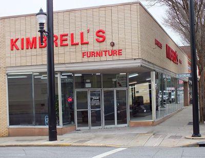 Entrance to Kimbrells in Lexington, NC